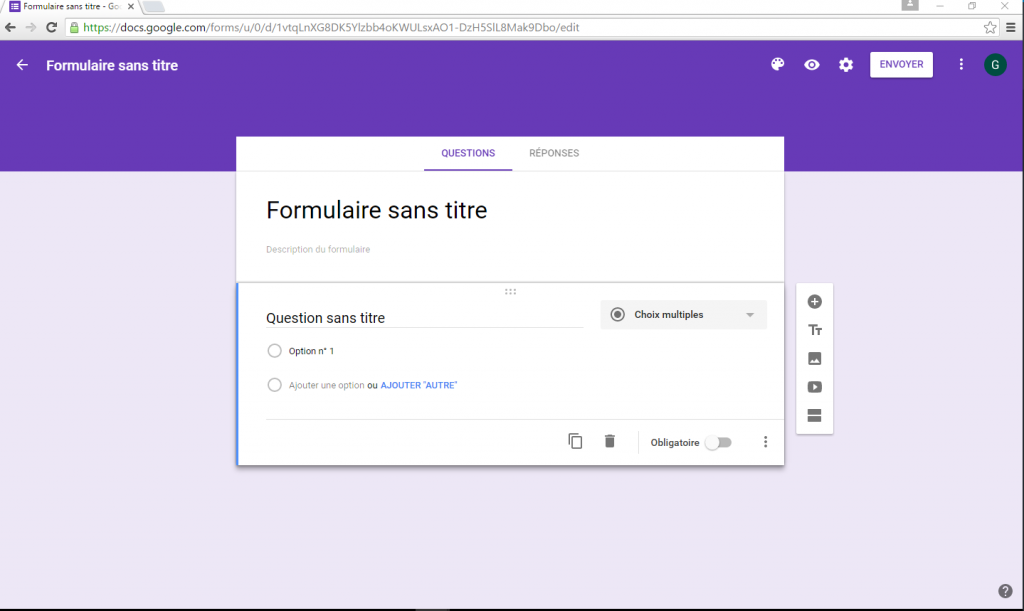 illustration Google Forms