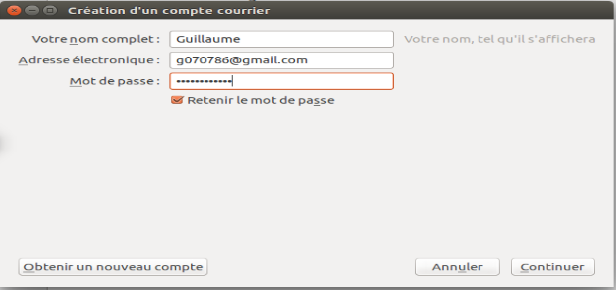 illustration configuration Gmail