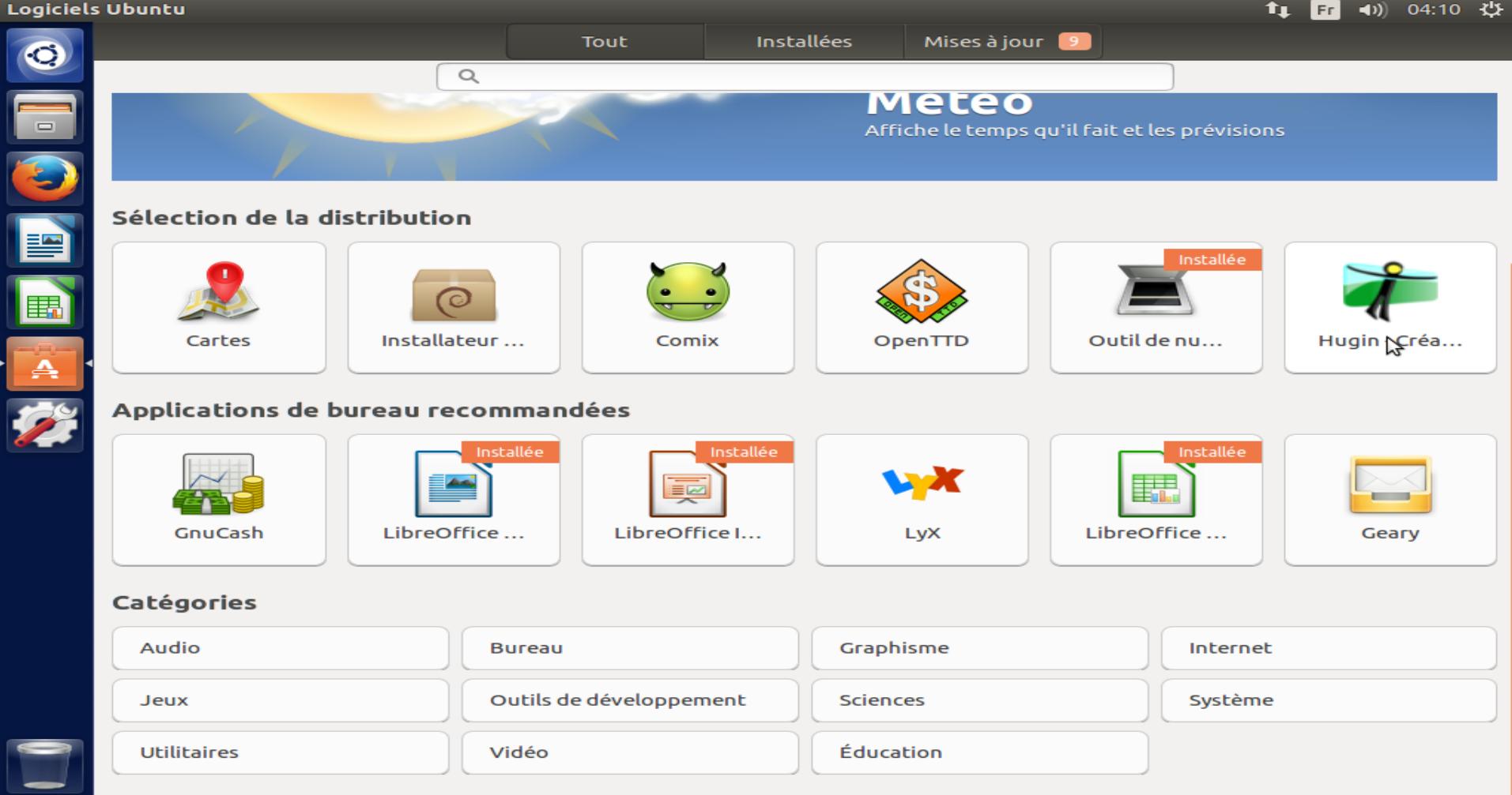 Illustration logithèque Ubuntu