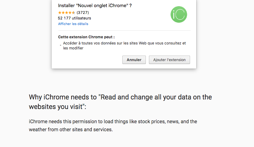 iChrome installer